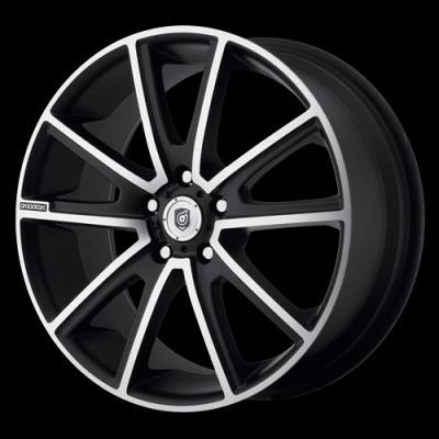 DS10 Matte Black Tires